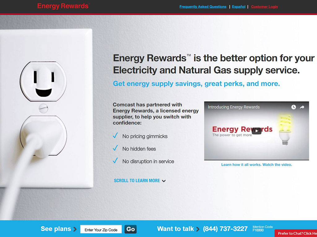Comcast Energy Rewards